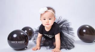黑色芭蕾&气球 – 周岁客照