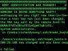 Mac提示 WARNING: REMOTE HOST IDENTIFICATION HAS CHANGED! 解决办法