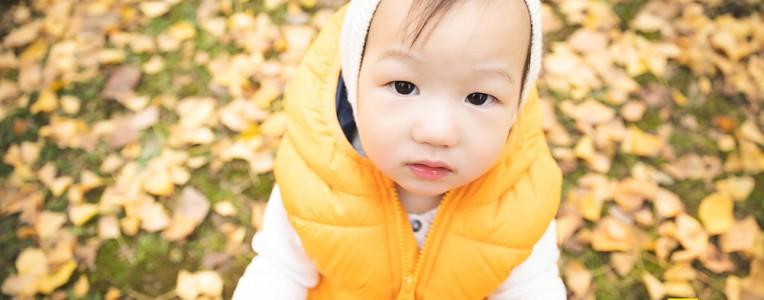 夏小雨 小朋友一周岁啦